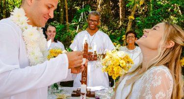 cerimonia de casamento na umbanda